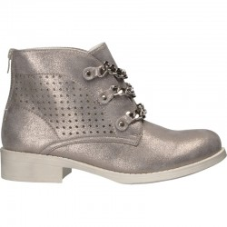 Ghete fashion, de dama, argintii