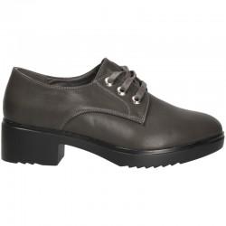 Pantofi comozi, gri, pentru femei