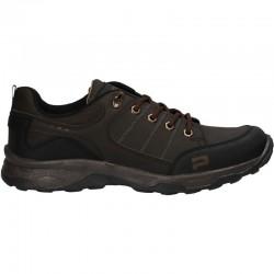 Pantofi barbatesti, stil trekking, culoarea maro