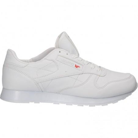 Pantofi albi, stil sport, pentru barbati