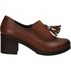 Pantofi de dama, stil office, cu toc mediu