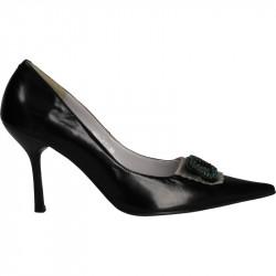 Pantofi de gala negri din piele