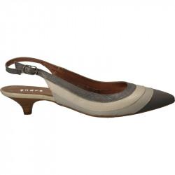 Pantofi de vara decupati in...