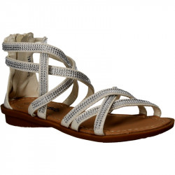 Sandale albe pentru fete,...