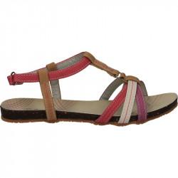 Sandale fete, din piele eco, cu scai