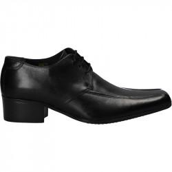 Pantofi barbati, negri, piele naturala