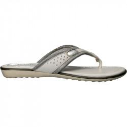 Papuci moderni, albi cu...