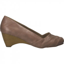 Pantofi dama maro-bej cu platforma