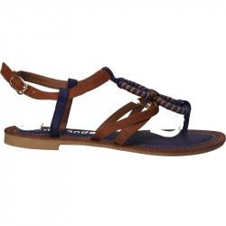 Sandale flip flops, cu cerculete violet