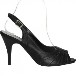 Sandale de dama, negre din...