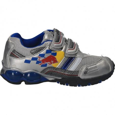Pantofi sport, argintii, pentru baieti
