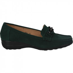 Pantofi femei, platforma, verzi