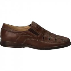 Pantofi de vara, barbatesti, piele naturala