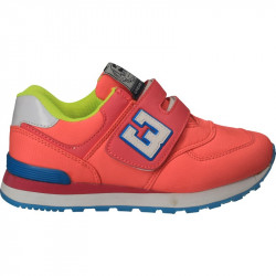 Pantofi sport copii, roz neon