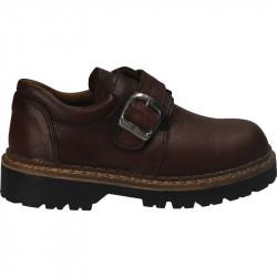 Pantofi maro, din piele,...