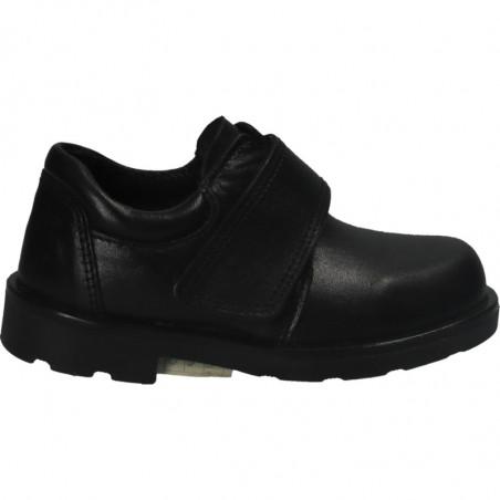 Pantofi negri, din piele, pentru copii