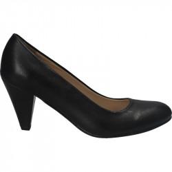 Pantofi femei business,piele naturala negru