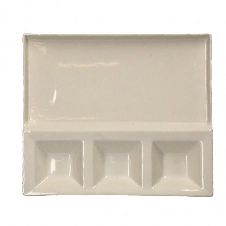 Platou ceramic pentru aperitive