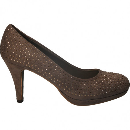 Pantofi eleganti, femei, maro deschis