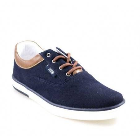 Pantofi pentru Barbati, casual, culoarea albastra