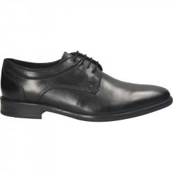 Pantofi barbatesti, negri, piele, stil office