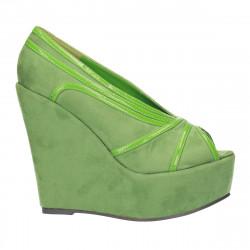 Pantofi dama, fashion, cu platforma
