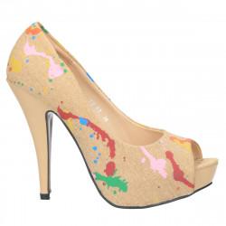 Pantofi extravaganti, din...