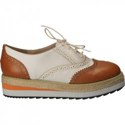 Pantofi femei, stil Oxford, talpa inalta