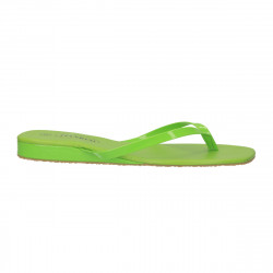 Saboti dama, flip flops, verde deschis