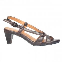 Sandale de dama, clasice, maro
