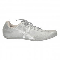 Sneakers dama, gri metalic