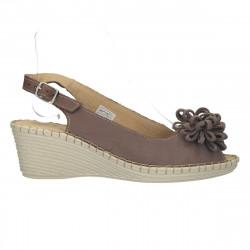 Sandale chic, talpa wenge,...