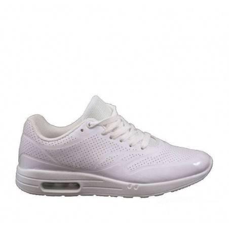 Pantofi albi de sport, pentru femei