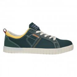 Sneakers trendy, verzi, material textil