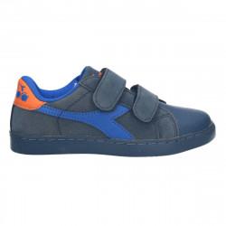 Pantofi sport, gri, cu scai, pentru copii