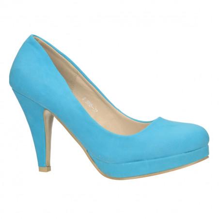 Pantofi Femei cu platforma si toc mediu