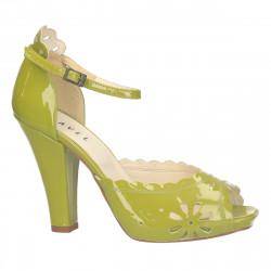 Sandale de gala, piele...