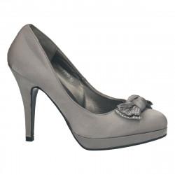 Pantofi eleganti, gri, cu...