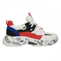 Pantofi trendy, albi,...