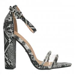 Sandale trendy, cu toc inalt block