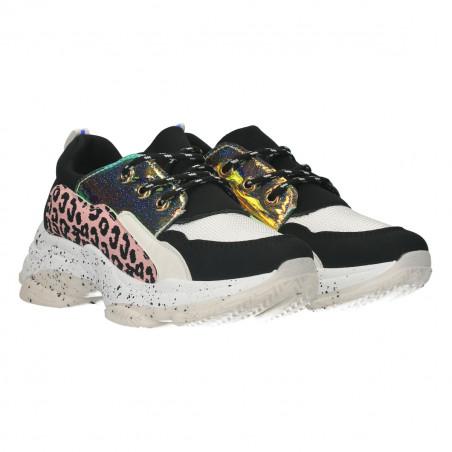 Sneakers animal print, pentru femei