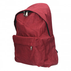 Rucsac barbatesc, stil smart casual, bordo