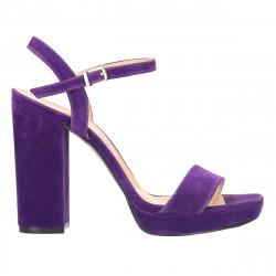 Sandale de gala, toc masiv,...