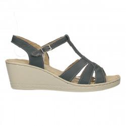 Sandale comode, piele, platforma medie