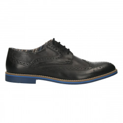 Pantofi barbati, stil Oxford, piele naturala