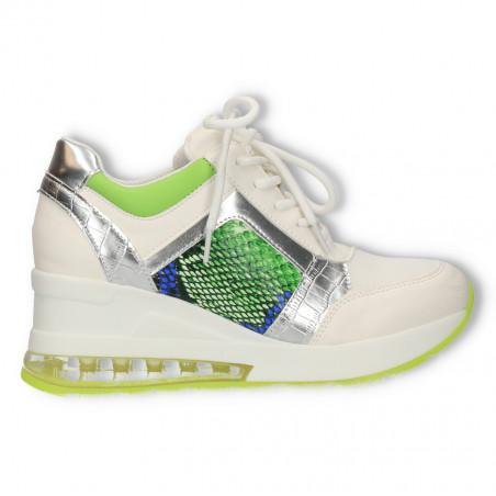 Sneakers dama, print snake