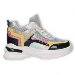 Sneakers dama, gliter, talpa groasa
