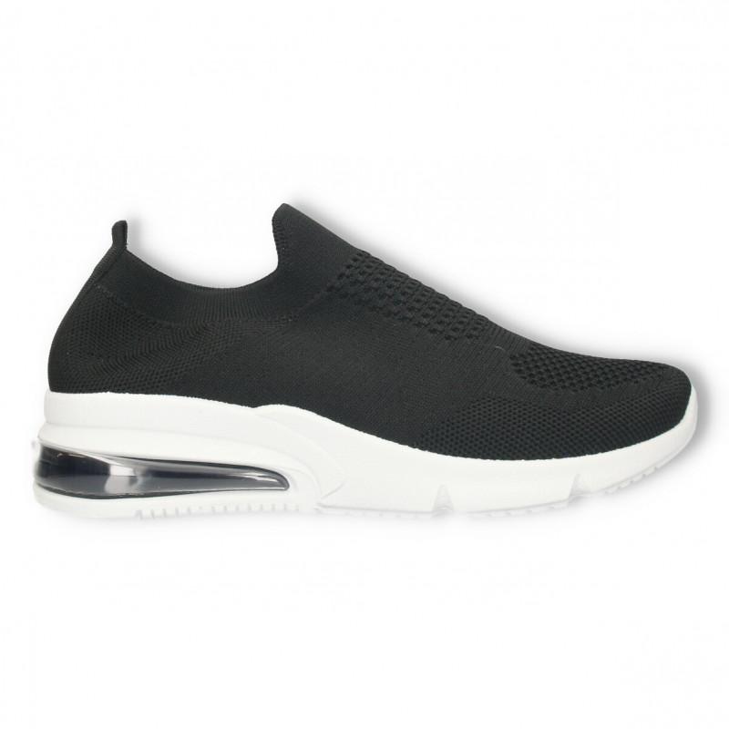 Sneakers negri, simpli, stil sport