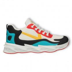 Sneakers multicolori, pentru femei