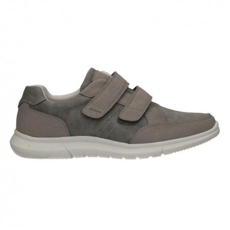Pantofi cu scai, barbatesti, culoare gri
